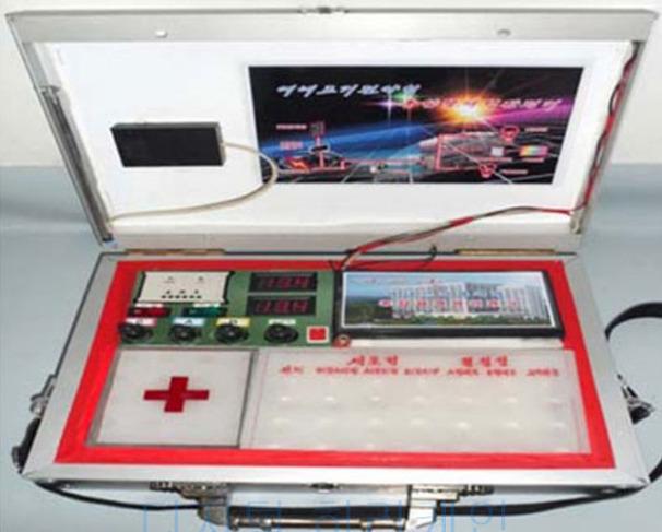 북한 휴대용혈액형판정기 개발