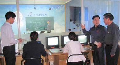 북한 스마트폰, 태블릿으로 원격교육