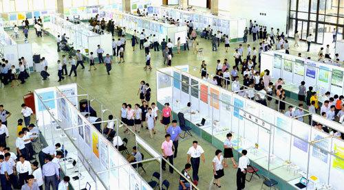 북한 과학기술 행사 열풍