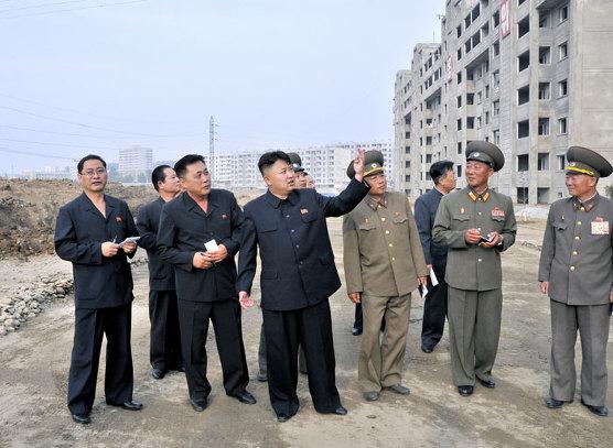 북한 과학자 아파트 1000세대 건설