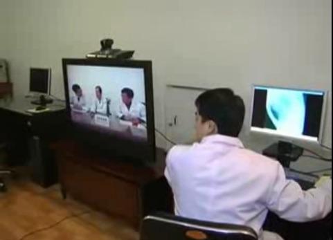 북한 u헬스 원격진료 210여개 병원 연결