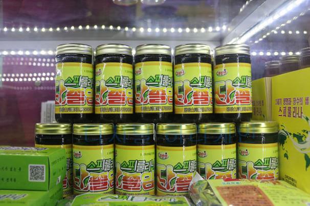 북한 슈퍼푸드 스피룰리나 제품 생산